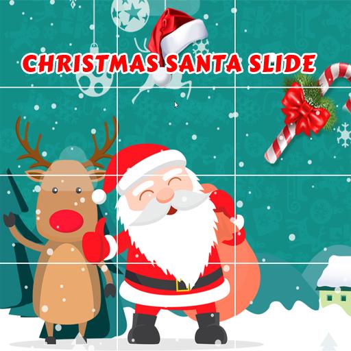free online Christmas Santa Slide