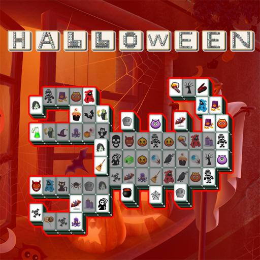 free online Halloween Mahjong Deluxe