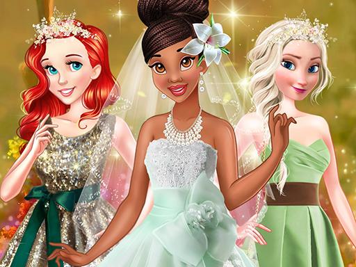 free online Tiana Spring Green Wedding