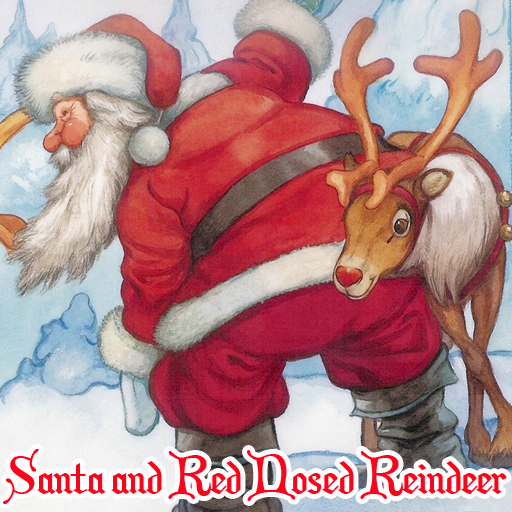 free online Santa and Red Nosed Reindeer Puzzle