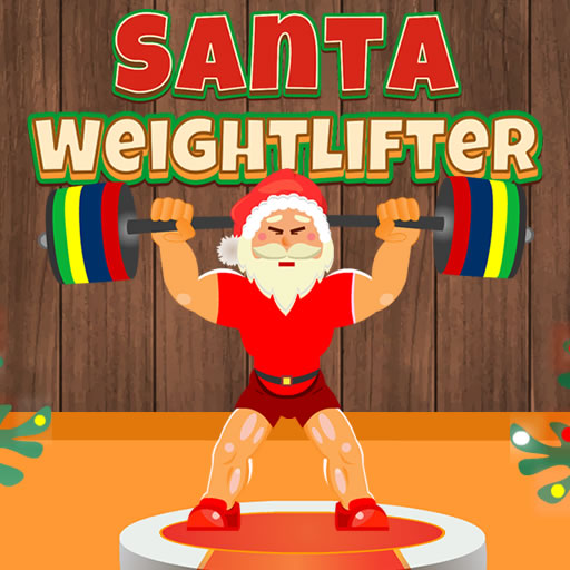 free online Santa Weightlifter