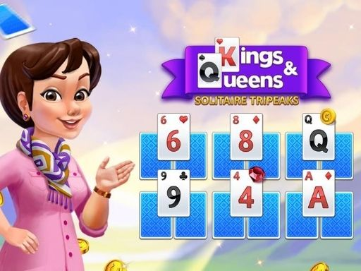 Kings and Queens Solitaire Tripeaks