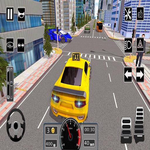Modern City Taxi Car Simulator