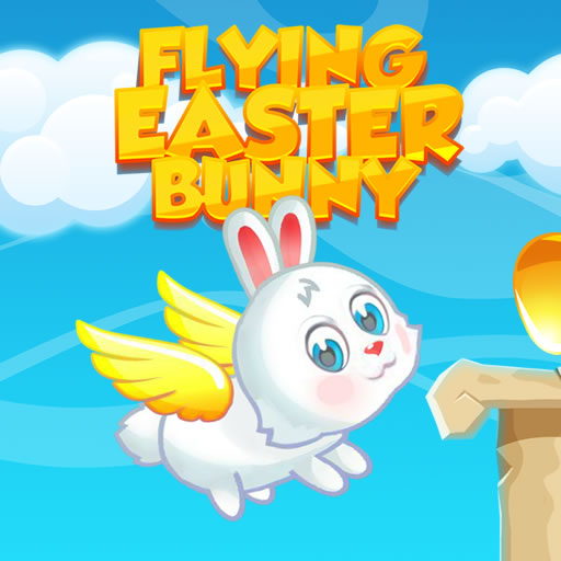 free online Flying Easter Bunny