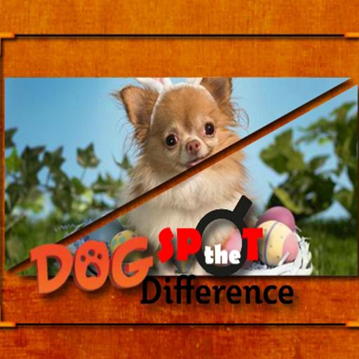 free online Dog Spot the Difference
