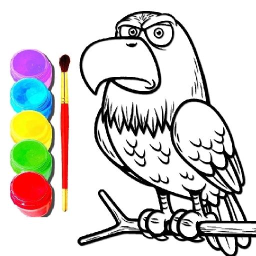Eagle Coloring Book