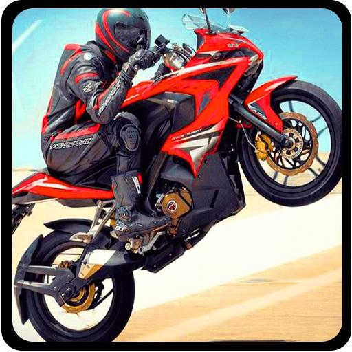Highway Traffic Moto Stunt Racer Game