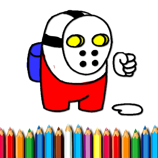 free online Space Dude Coloring Book
