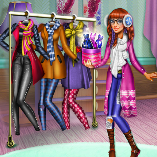 Tris Winter Fashion Dolly Dress Up