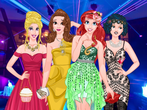 free online Princesses Graduation Party Night