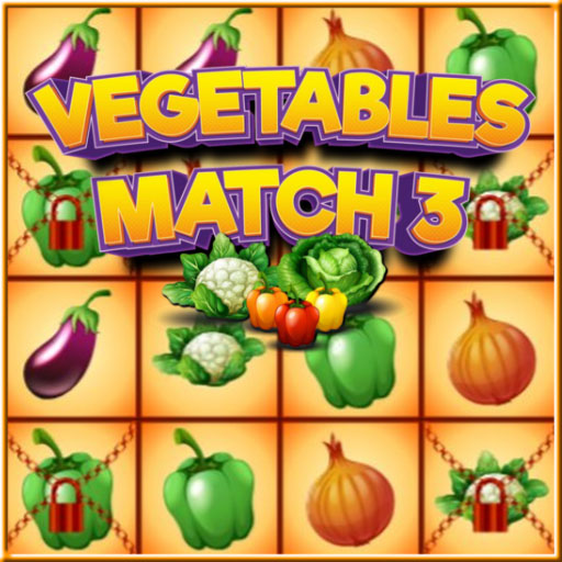 free online Vegetables Match 3