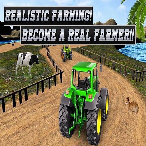 Real Tractor Farming Simulator : Heavy Duty Tractor