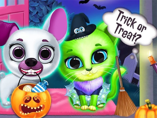 free online Scary Makeover Halloween Pet Salon