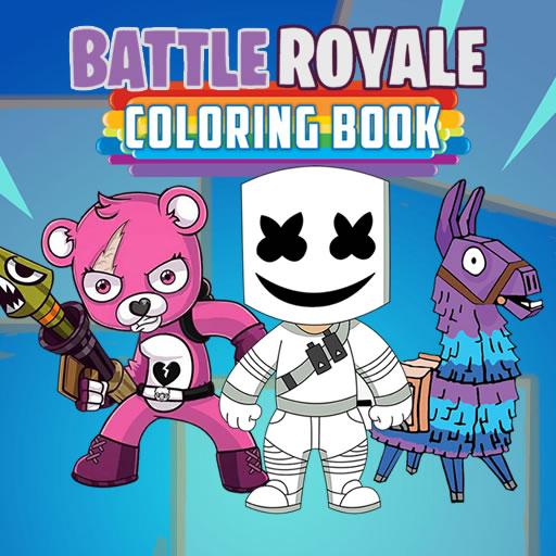 free online Battle Royale Coloring Book