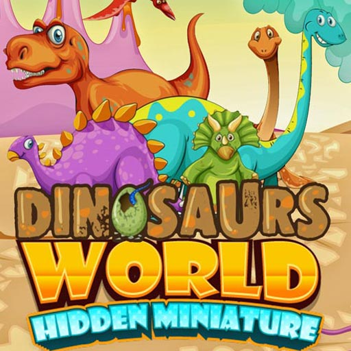 Dinosaurs World Hidden Miniature