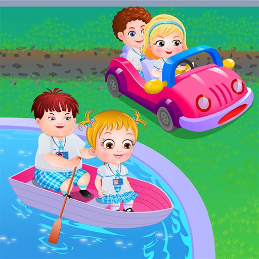 free online Baby Hazel Learns Vehicles