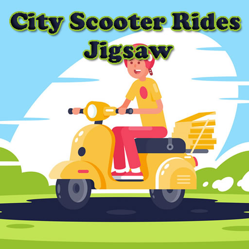 City Scooter Rides Jigsaw