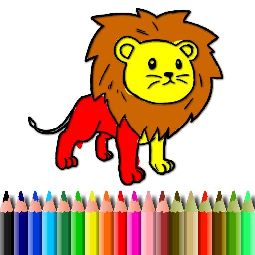 BTS Lion Coloring Book