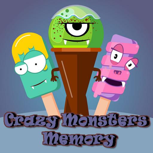 free online Crazy Monsters Memory