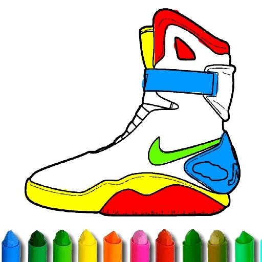 BTS Shoe Coloring